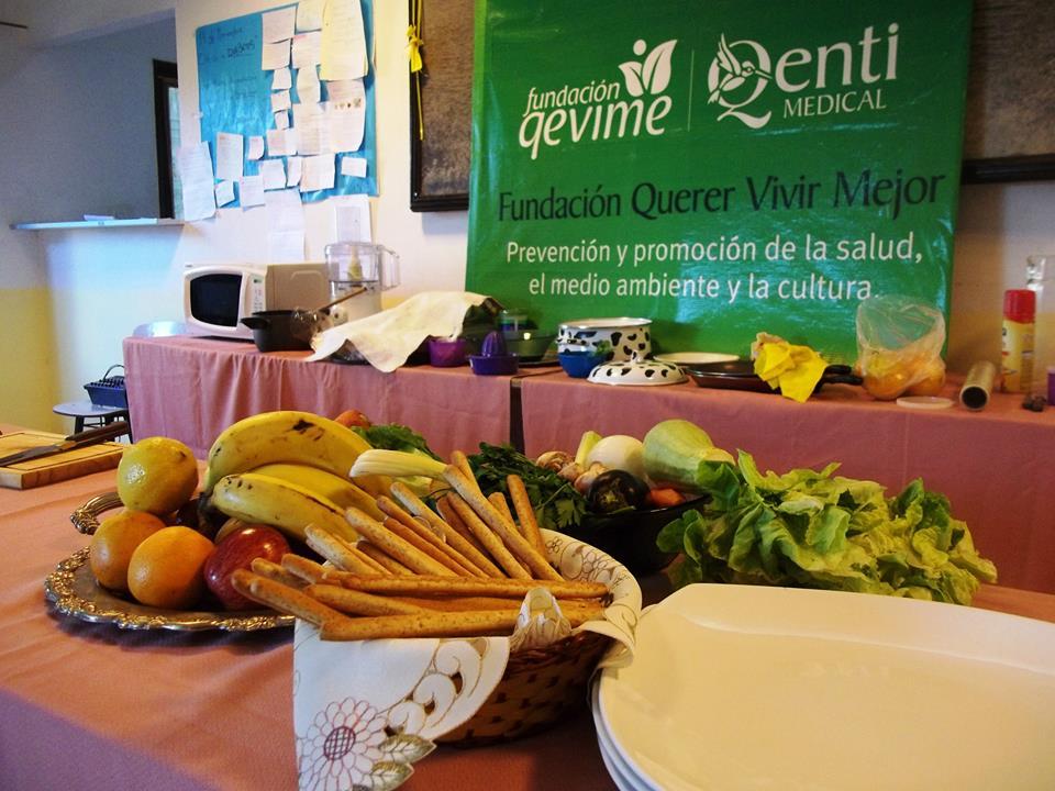 Taller de Cocina Saludable de Qevime 1